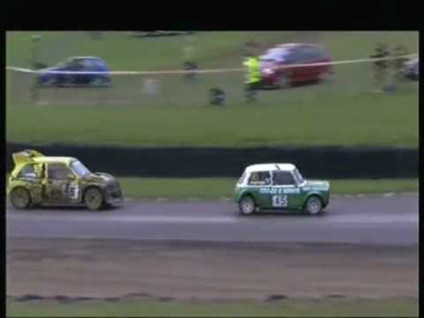 Amazing recovery in Rallycross