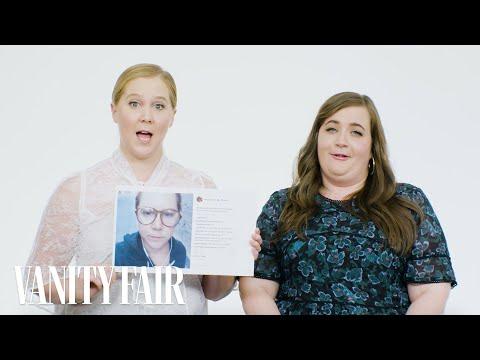 Amy Schumer and Aidy Bryant Explain Their Instagram Photos   Vanity Fair