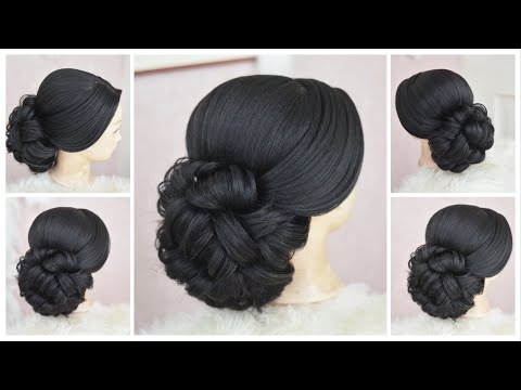 Amazing Ideas/Bridal Messy-hairstyle    Gorgeous wedding updo hairstyles/ Hair Tutorial Video