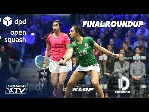 Squash: El Welily v El Sherbini - DPD Open 2019  Final Highlights