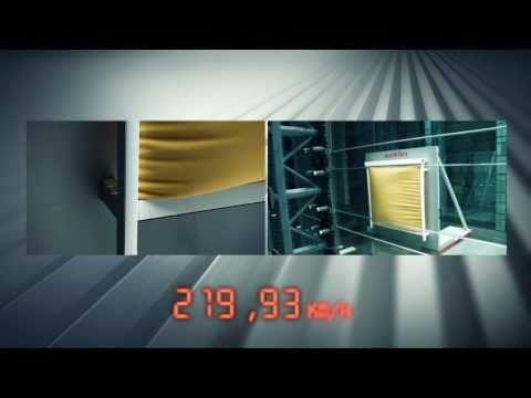 Wind Tunnel Test: Markilux 620 zip- Lateral Air Flow