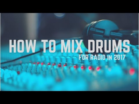 How To Mix Drums - Easy Mixing Drums | Logic Pro X