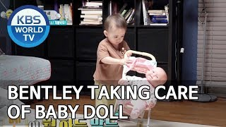 Video Bentley taking care of baby doll [The Return of Superman/2019.06.23] MP3, 3GP, MP4, WEBM, AVI, FLV Juni 2019
