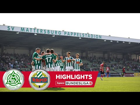 SV Bauwelt Koch Mattersburg 1-0 SK Rapid Wien
