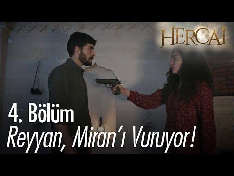 Reyyan, Miran'ı vuruyor! - Hercai 4. Bölüm