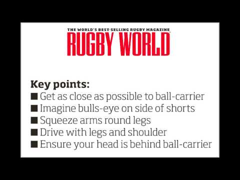 Mini rugby video: How to tackle