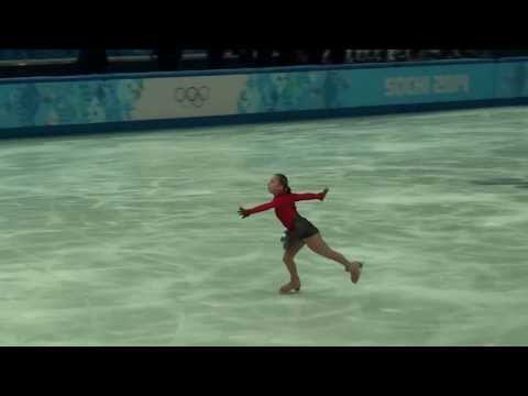 Julia LIPNITSKAIA XXII Olympic Winter Games 2014