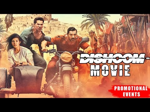 Dishoom Movie (2016)   John Abraham, Varun Dhawan, Jacqueline Fernandez   Promotional Events