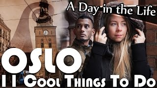 Oslo Norway  City new picture : 11 COOL THINGS TO DO IN OSLO NORWAY VLOG (ADITL EP127)