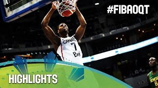 Watch the highlights between Canada and Senegal at the 2016 FIBA Olympic Qualifying Tournament in the Philippines. For more information please visit http://w...