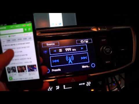 HONDA ACCORD MIRROR Link - Iphone5 2