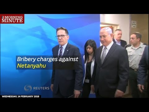Police investigating Israeli Prime Minister Benjamin Netanyahu have recommended charging him with bribery in two cases.
