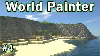 •️ World Painter Tutorial - #4 - Cliffs & Beaches