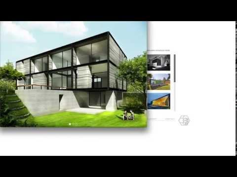 Página Web para un despacho de arquitectos