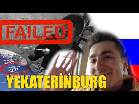 -27 DERECE! | YEKATERİNBURG'DA BİR GÜN | İLK DEFA SUSHİ YİYEMEDİM!