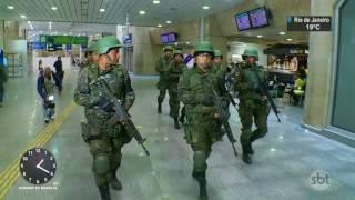Durante uma visita surpresa ao Rio de Janeiro, o presidente Michel Temer afirmou em pronunciamento que as forças armadas podem permanecer na cidade ...