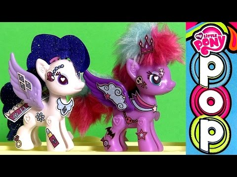 Little - DisneyCollector presents My Little Pony Pop Princess Luna and Rarity Deluxe Style Kit. Design a pony your way with this deluxe Kit! It has a pony body you can snap together, then it's easy...