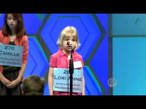 6-year-old tries out for National Spelling Bee