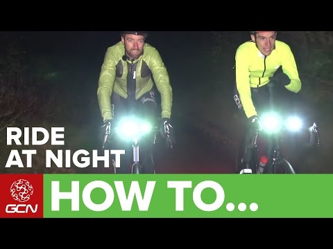 How To Ride Your Bike At Night –Guide To Lighting + Reflective Clothing
