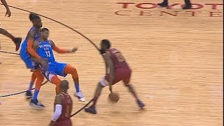 James Harden Gets Away With Worst Charge On Paul George! Rockets vs Thunder