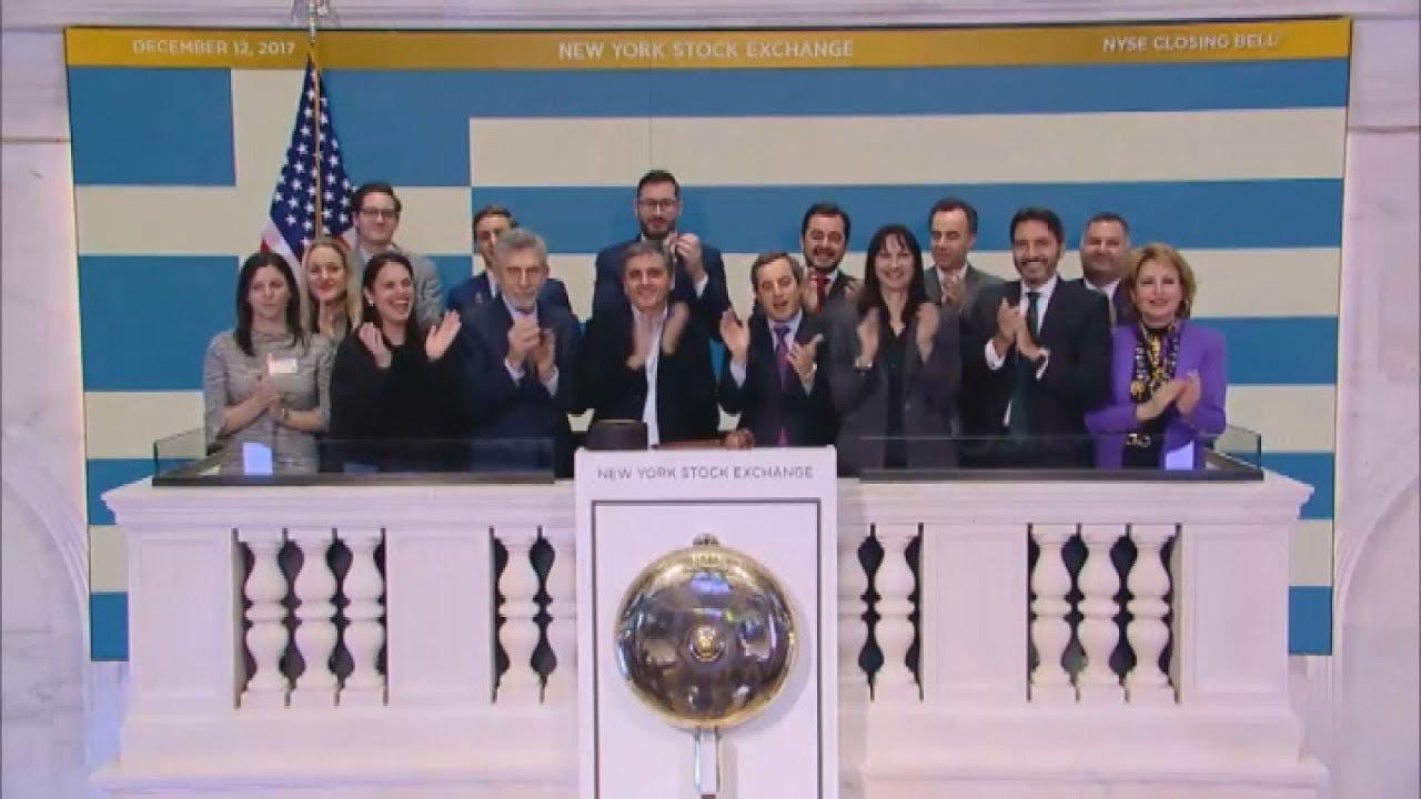 Ο Ευκλ. Τσακαλώτος χτύπησε το καμπανάκι της Wall Street