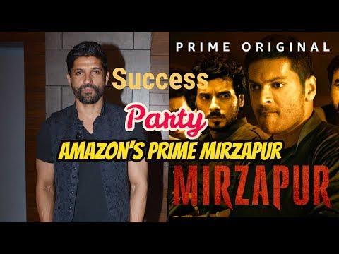 Farhan Akhtar At Success Party Of Amazon's Prime Mirzapur