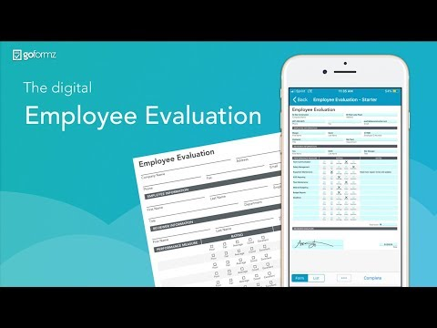 The Digital Employee Evaluation Form