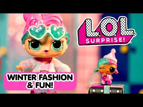 BBs Winter Fashion Show! | Holiday Present Surprise! | LOL Surprise!