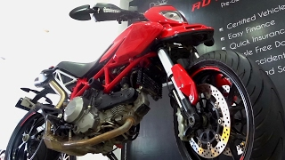 2. Ducati Hypermotard 796 Walkaround Review, Exhaust Note #Bikes@Dinos