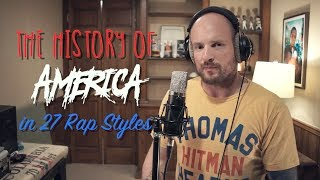 Video The History of America...Told in 27 Rap Styles MP3, 3GP, MP4, WEBM, AVI, FLV Oktober 2017