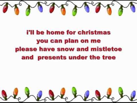 , title : 'I'll be Home for Christmas - Elvis Presley'