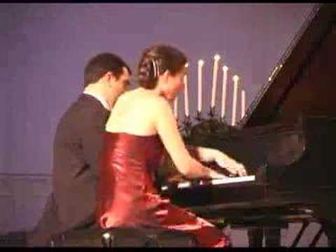 M.Ravel Rapsodie Espagnole for piano four hands part 2