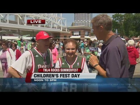 Tuesday is Children's Fest at Summerfest