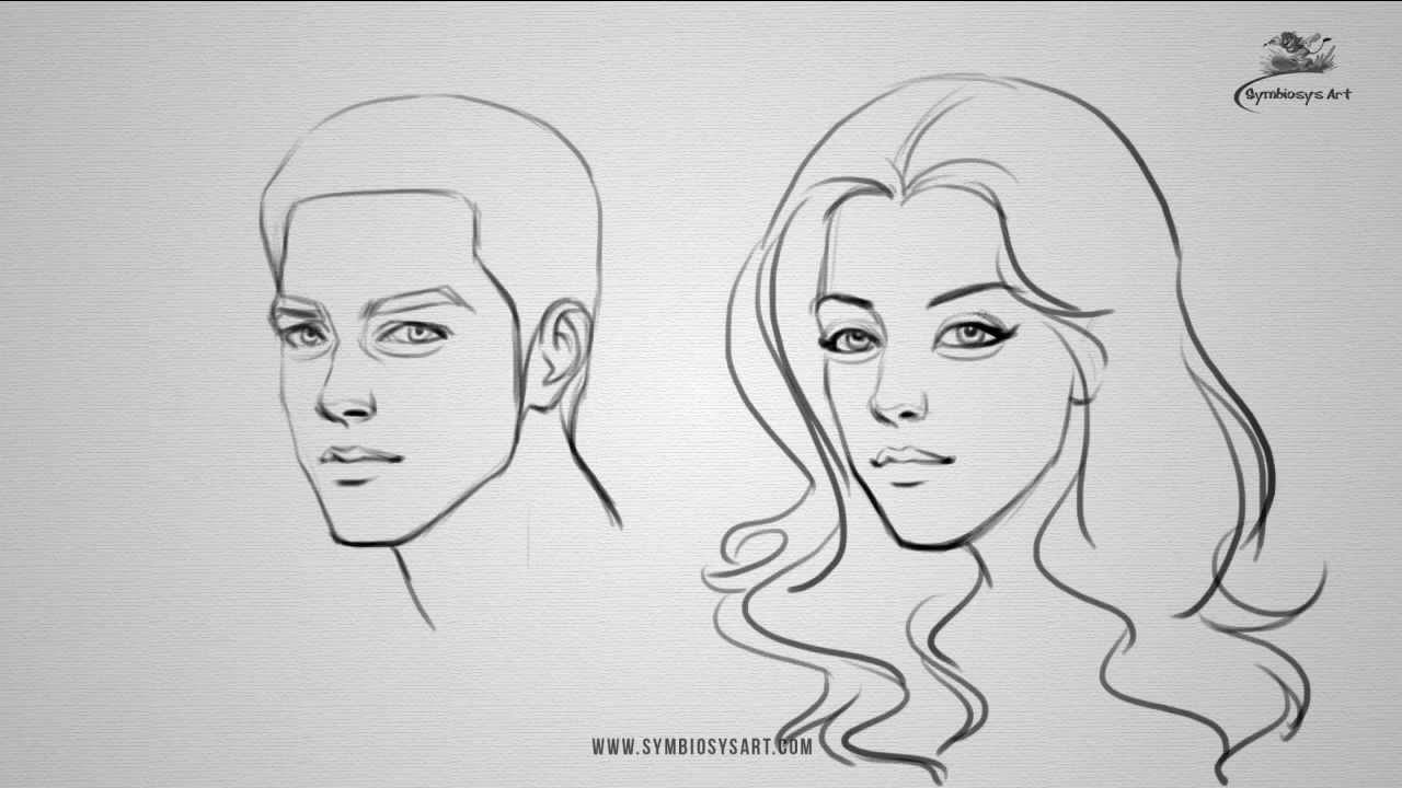 face drawing tutorial