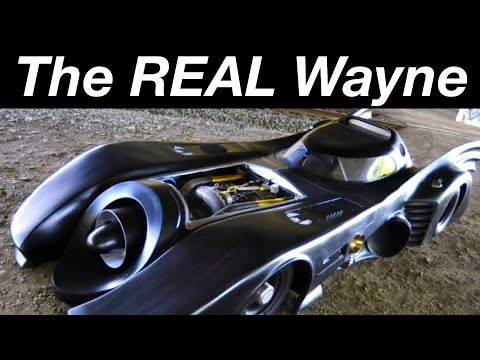 actual - This is the only Bat car created that makes fiction reality. It is powered by a military spec turboshaft engine driving the rear wheels through a semi automa...