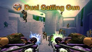 [CF] Dual Gatling Gun (RARE, UNSEEN WEAPON!)