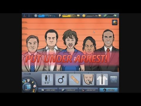 Criminal Case - gameplay - catching the murderer