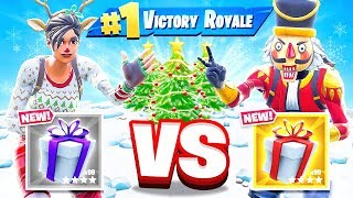 CHRISTMAS Rock PAPER Scissors *NEW* CREATIVE Game Mode in Fortnite Battle Royale
