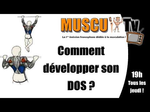 Comment développer son DOS ? 6 conseils ! Muscu TV ksCoaching