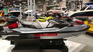 4. 2018 SEA DOO RXTX 300 ON DISPLAY  @ NEW YORK BOAT SHOW