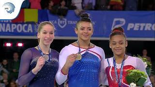 UEG Official – 7th European Men's and Women's Artistic Gymnastics Championships – Cluj Napoca (ROU), April 19-23, 2017. Elissa Downie (GBR), All-Around : 55.765 European Champion.Follow the European Union of Gymnastics on its channels to stay up to date with their latest news!