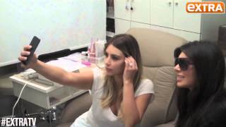 Kim K and Brittny Teach you how to take the Perfect Selfie - YouTube