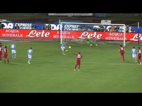 Napoli-Cagliari 3-0 06-05-2014 Gol Mertens Live in HD dalla Curva B