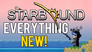 Subscribe for unique daily content. Today we break down everything new in the Starbound PC 1.1 update! Starbound Let's Play : http://tinyurl.com/jj8vakx ...