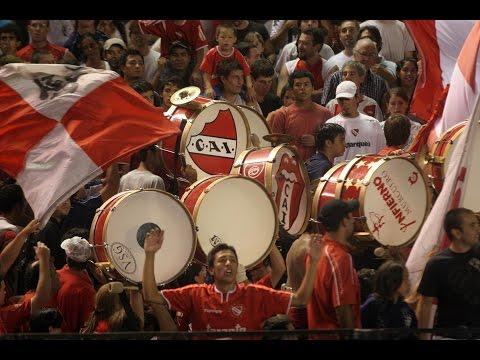 Video especial: 50 minutos de BOMBOS. - La Barra del Rojo - Independiente