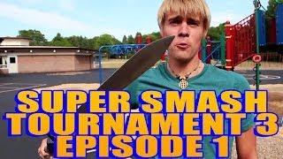 Live Action Super Smash Tournament!