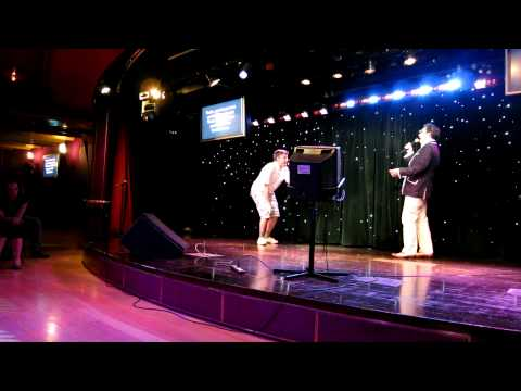 David Rees and Paul F. Tompkins singing All These Things That I Have Done on JoCo Cruise Crazy 2