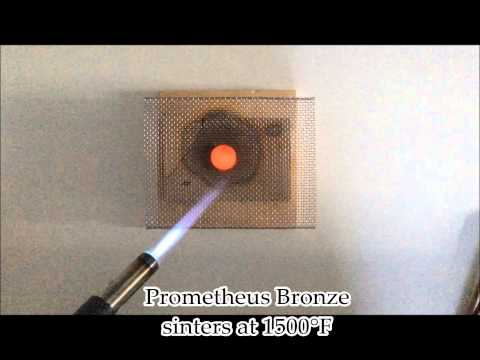 How to Torch Fire Prometheus Bronze Clay