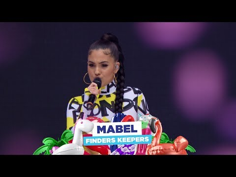 Mabel - 'Finders Keepers' (live At Capital's Summertime Ball 2018)