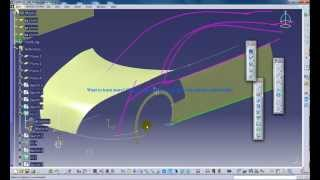 Catia V5 Powerful Tricks #139|Extrapolating Surfaces and Curves in GSD